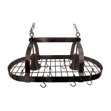Darby Home Co 2 Light Kitchen Pot - Two Light Pot Rack