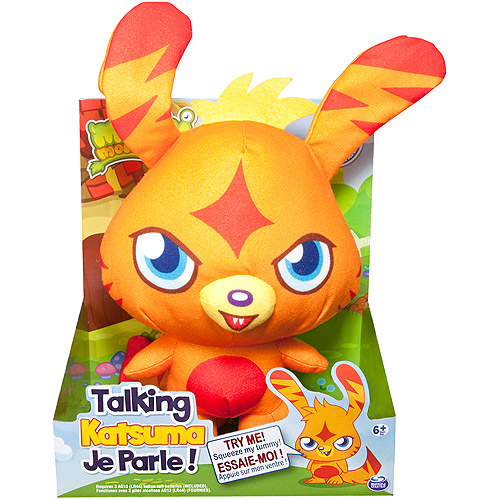 Moshi Monsters Talking Plush Toy, Katsuma