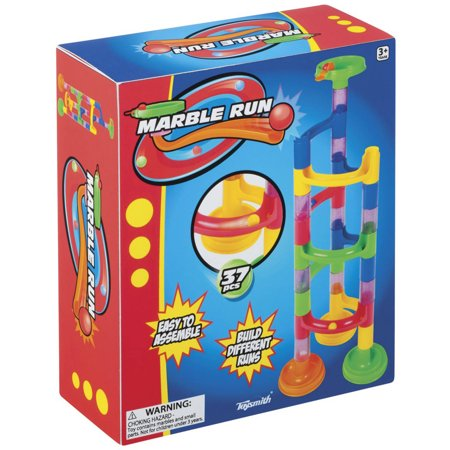 Toysmith Marble Run, 37-Piece - Mega Marble Run