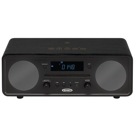 Jensen All in One Bluetooth Digital Alarm Clock AM/FM Radio Cd Player (Cd Player Am Fm Clock Radio)