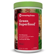 Amazing Grass Green Superfood Powder, Berry, 60 Servings