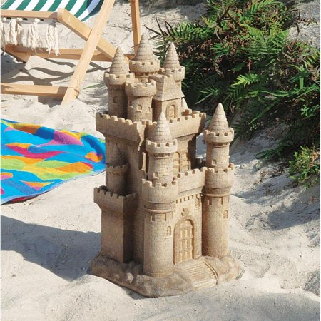 Gorham Sea Sculpture - Design Toscano Castle by the Sea Sculpture