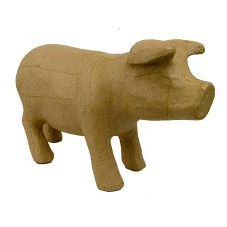 PA Paper Mache Standing Pig](Paper Mache Heads Halloween)