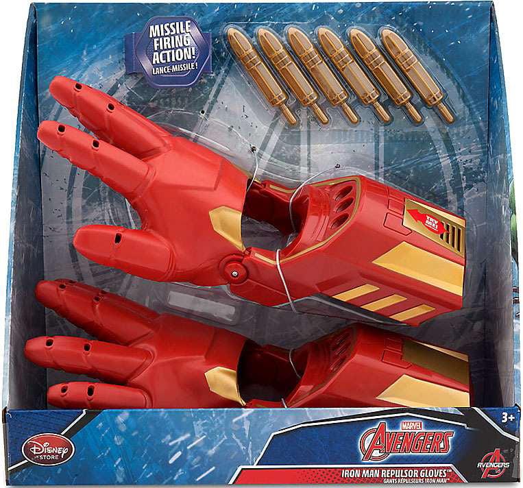 Avengers Iron Man Repulsor Gloves