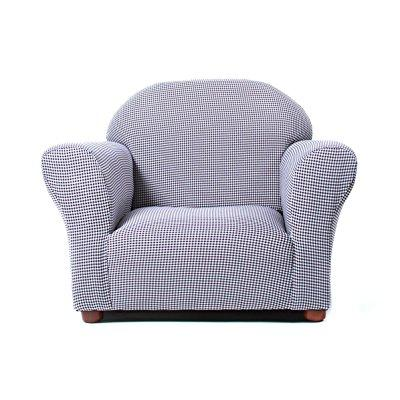 Fantasy KEET Roundy Kid's Chair Gingham, Navy