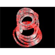 Led rope lights 18 red led indooroutdoor christmas rope lights aloadofball Image collections