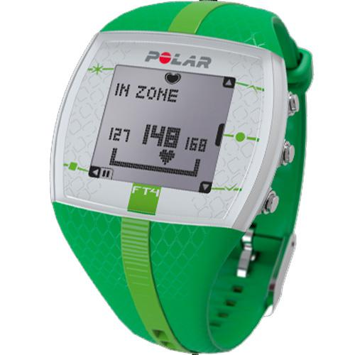 Women's Polar Heart Rate Monitor Fitness Watch FT4F GREEN...