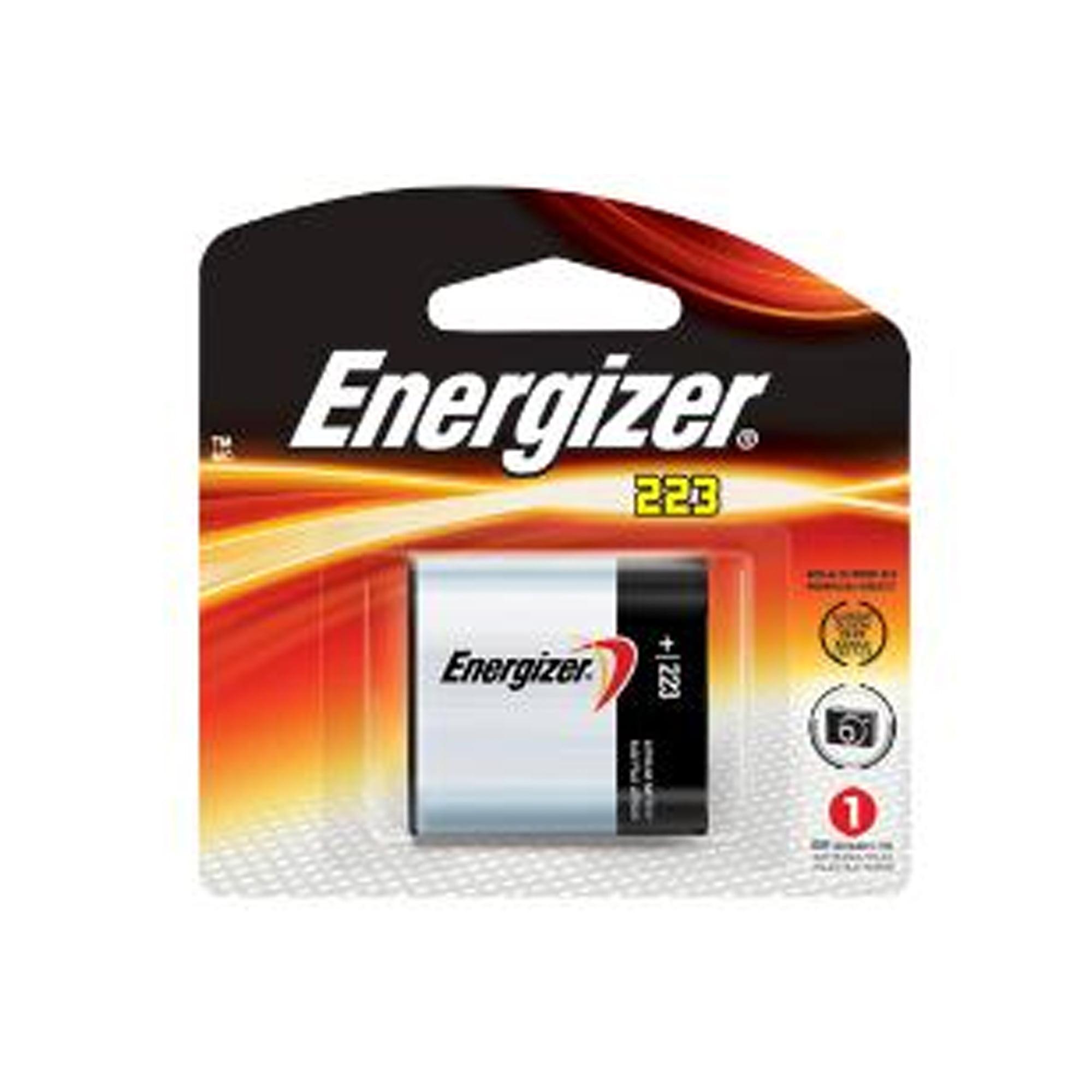 100-pack Energizer CRP2 (223A) 6 Volt Lithium Batteries (On a Card) - image 1 de 1