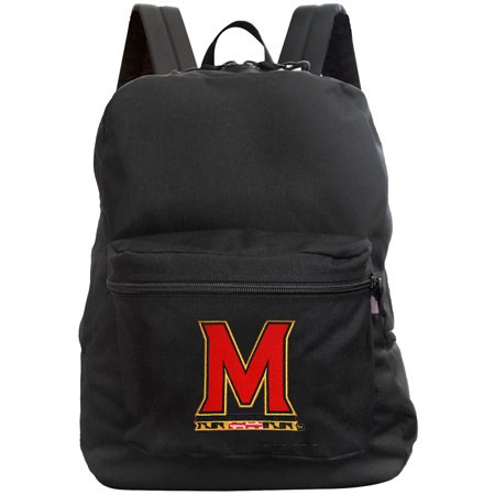Maryland Terrapins 16'' Made in the USA Premium Backpack - Black - No