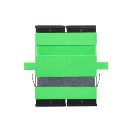 Duplex Fiber Single - Monoprice SC Duplex Fiber Adapter ( 6 Pack ) Female To Female, Single Mode, Easy to Install, Use with Blank Panels