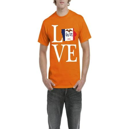 f77131dbcbd Normal is Boring - Love Iowa Men Shirts T-Shirt Tee - Walmart.com