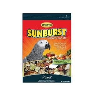 Higgins Sunburst Parrot Bird Food, 25 Lb