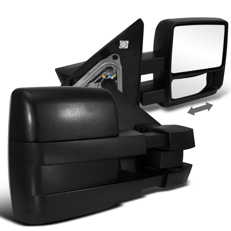 Spec-D 2004-2014 Ford F150 Towing Manual Extend Mirrors P...
