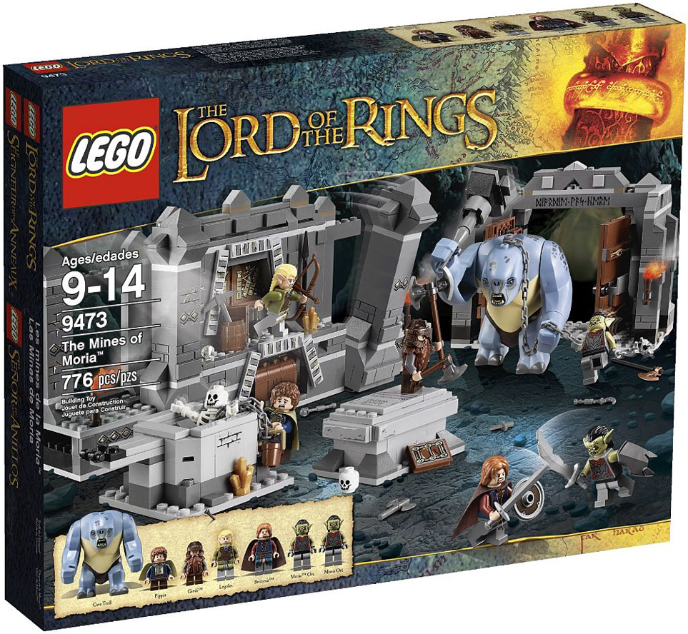 LEGO Lord of the Rings The Mines of Moria Play Set