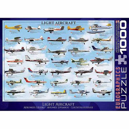 EuroGraphics General Light Aviation 1000-Piece Puzzle