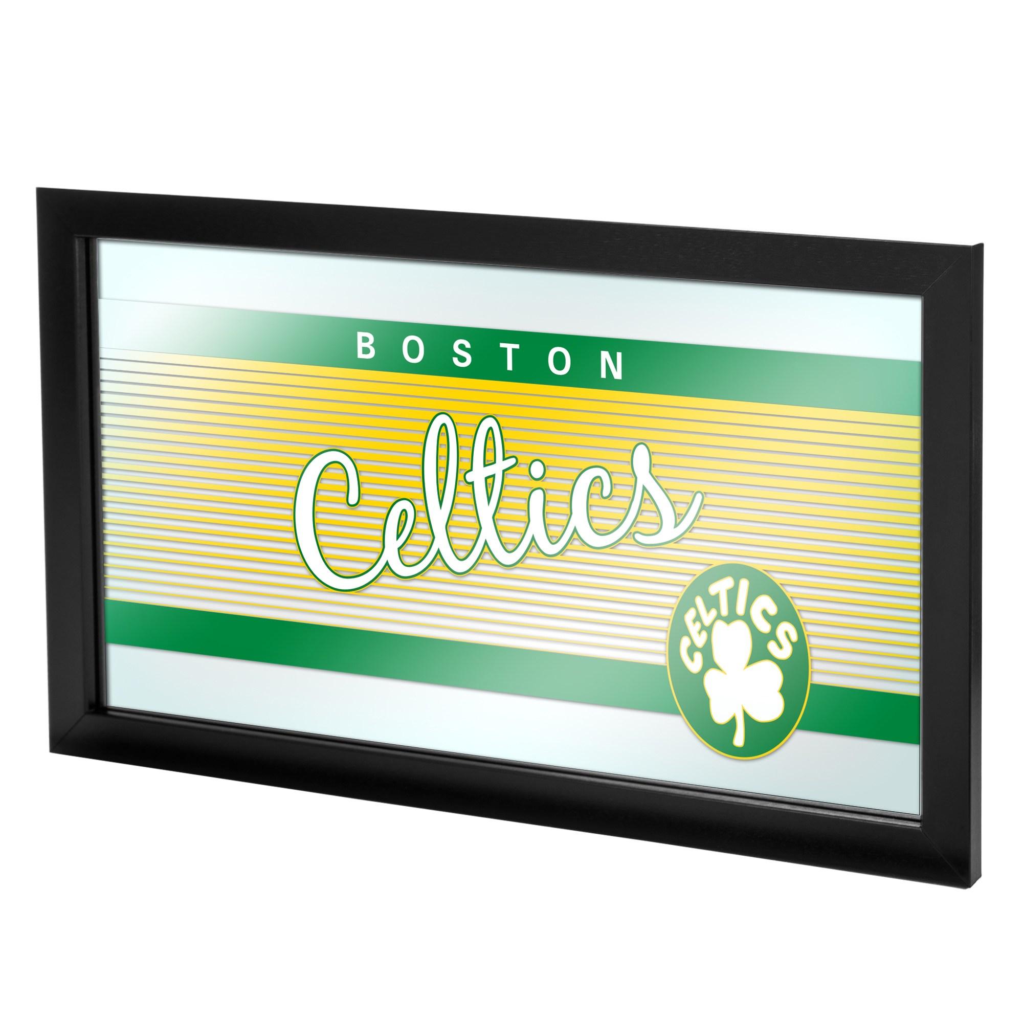 Boston Celtics Hardwood Classics NBA Framed Logo Mirror