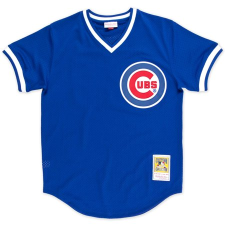 Ryne Sandberg Chicago Cubs Mitchell & Ness Authentic 1984 BP Jersey by