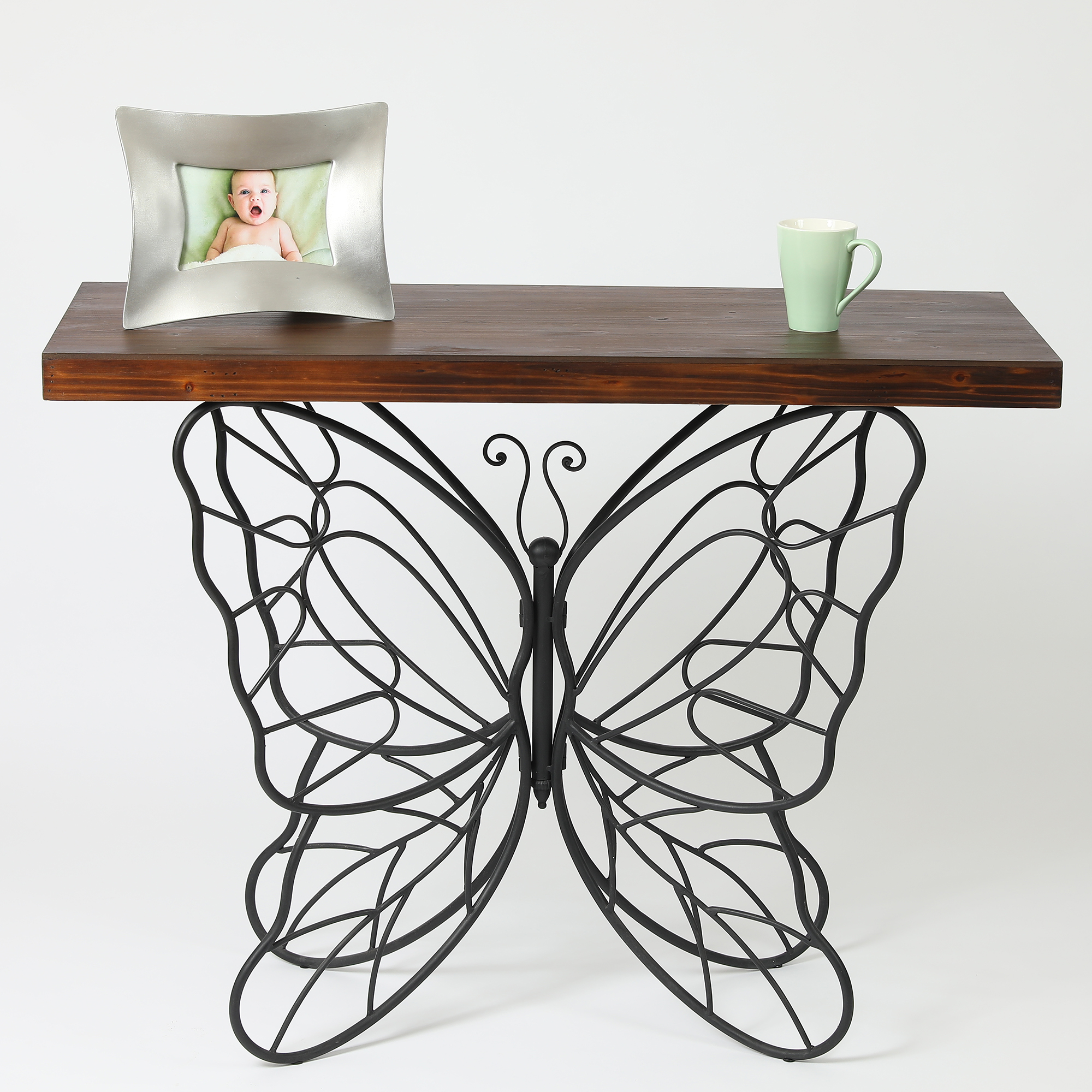 Butterfly Accent Table by Winsome House