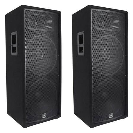 Jbl Home Speakers >> 2 Jbl Jrx225 Dual 15 Professional 4000w Passive Dj Pa Speakers 4 Ohm Jrx 225