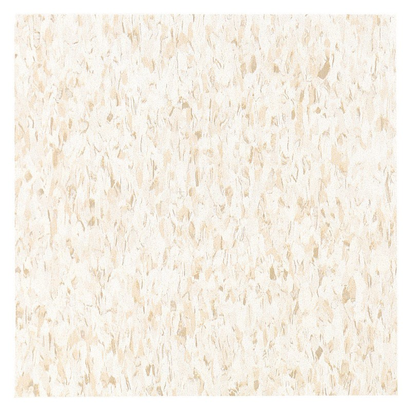 """Armstrong Standard Excelon Floor Tile 12 """" X 12 """" Imperial Commercial White/Beige"""