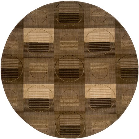 Sphinx Palermo Area Rugs - 2918B Contemporary Grey Blocks Circles Stripes Rug