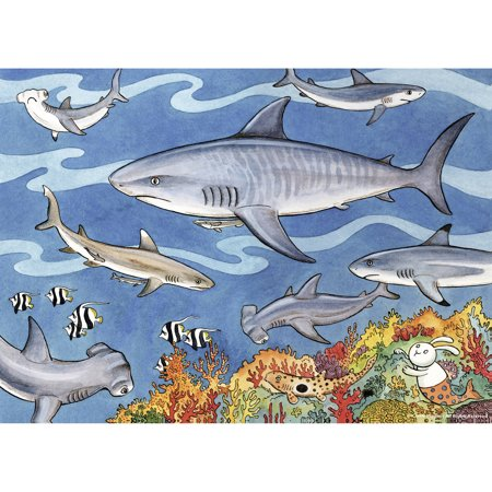 Ravensburger Sea of Sharks 60 Piece Puzzle
