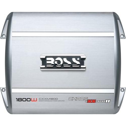 Boss CXXM1800 Chaos MOSFET Class D 1800W Monoblock Power Amplifier