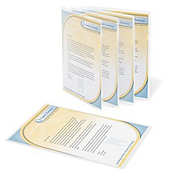 Office Depot Poly Project View Folders, Letter Size, Clear, Pack Of 10, 741341 (Office Depot Nearby)