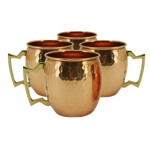 Vandue Corporation Modern Home Hammered Moscow Mule Mug (Set of 4)