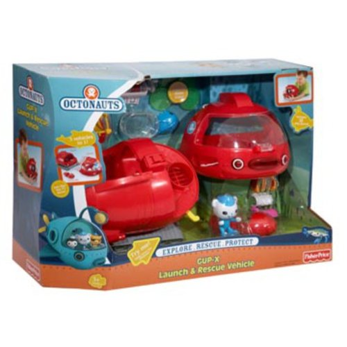 Fisher-Price Octonauts GUP-X Launch & Rescue Vehicle