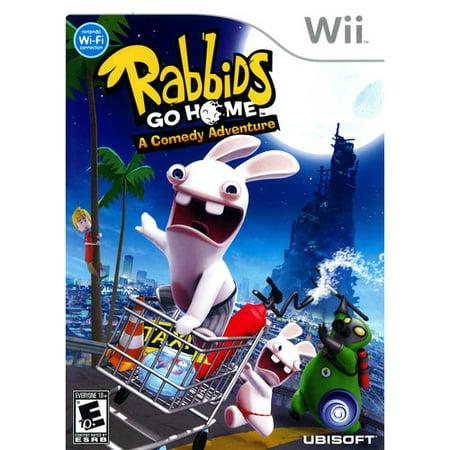 Rabbids Go Home: A Comedy Adventure (Wii)