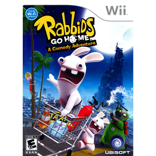 Rabbids Go Home: A Comedy Adventure (Wii)