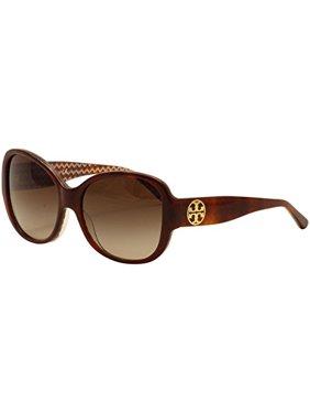 7b9ff4a3ce0 Product Image Tory Burch Women s TY7108 Sunglasses Tort Orange Zig Zag    Dark Brown Gradient 56mm