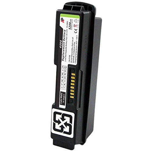 Motorola / Symbol WT-4090 & 4070 Scanners: Replacement Battery. 5200 mAh (Extended Capacity)