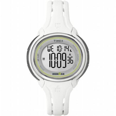 Ironman Sleek 50-Lap Mid-Size Watch, White - image 1 de 1