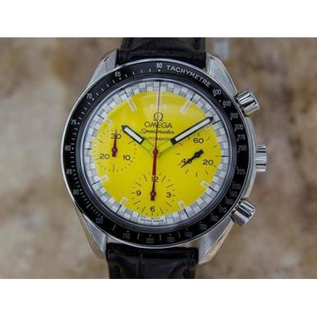 Omega Speedmaster Stainless St Automatic Mens Sports Chronograph Watch BB9