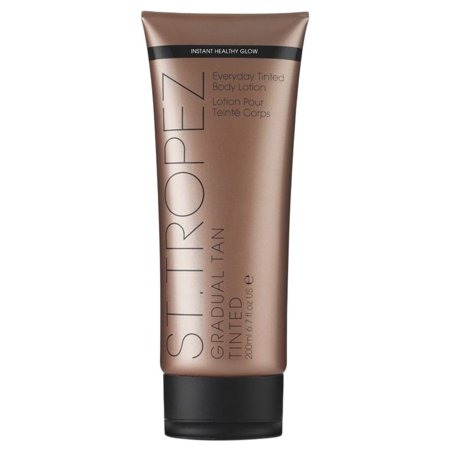 Tropic One Handle (St. Tropez Gradual Tan Tinted Everyday Body Lotion, 6.7 Oz)