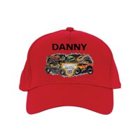 Personalized Monster Jam Madness Baseball Hat, Red