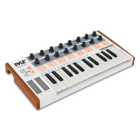 Pyle PMIDIKPD50 - MIDI Keyboard System - Digital USB Controller