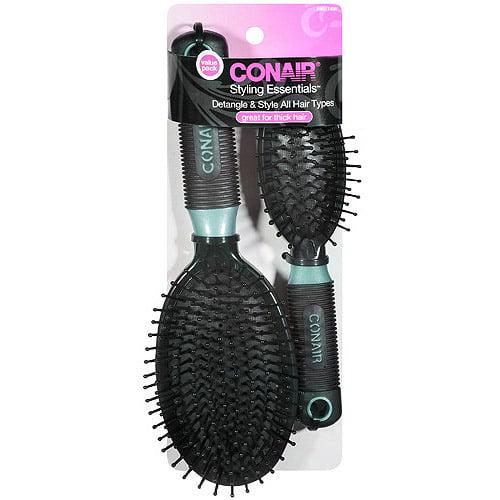 Conair Styling Essentials Brush Set, 2 pc