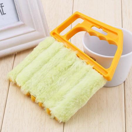 Ejoyous Mini nettoyeur tenu dans la main, nettoyeur de nettoyeur de climatiseur de fenêtre aveugle vénitien de brosse - image 6 de 11