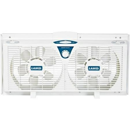 (Lasko 2138 8-Inch Electrically Reversible Twin Window Fan)