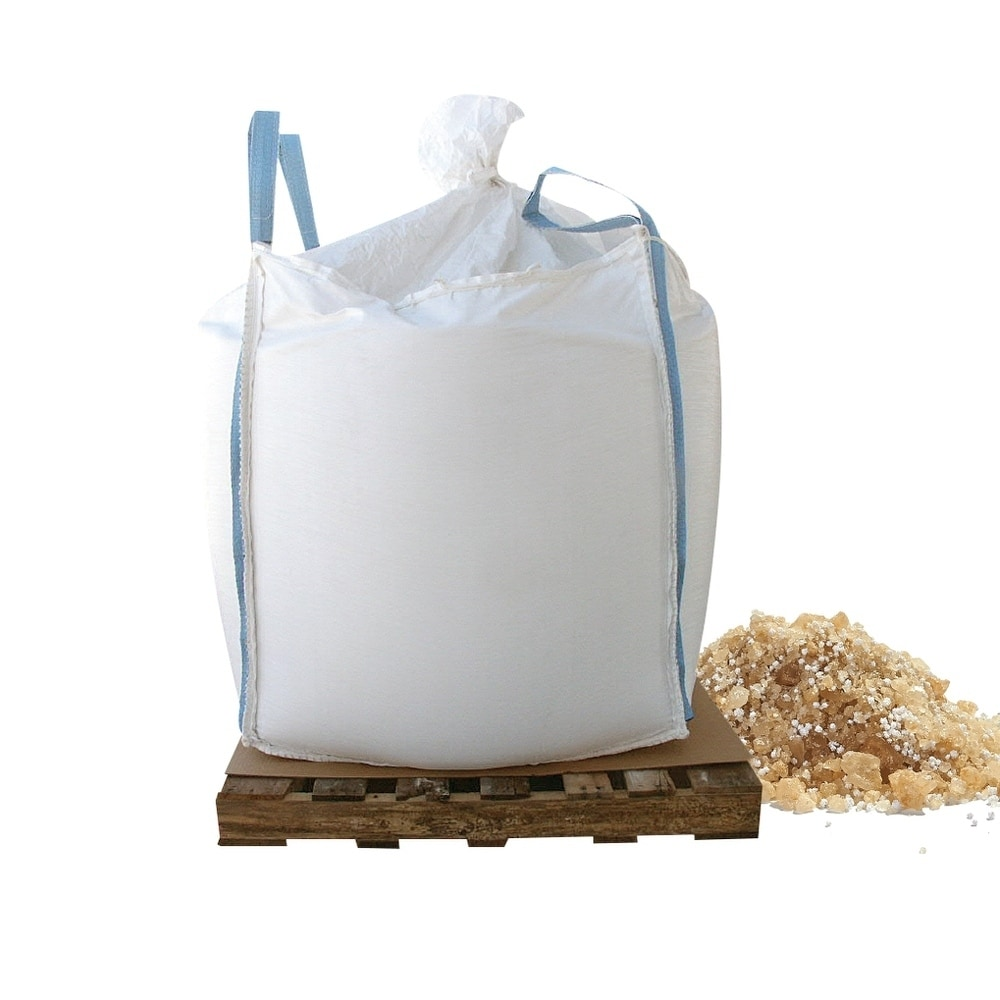 Bare Ground coated granular blend with Calcium Chloride pellets ( Base UPC 0063227250512) Size 2000 lb