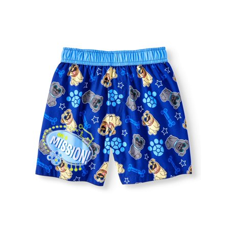 Puppy Dog Pals Swim Trunks (Toddler Boys)