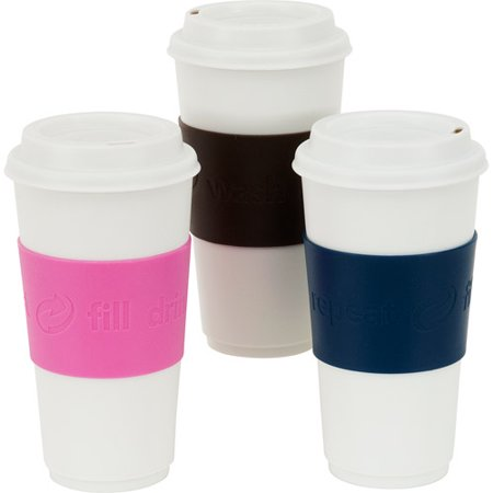 Copco To Go Reusable 16 Oz Coffee Cups 3 Pack