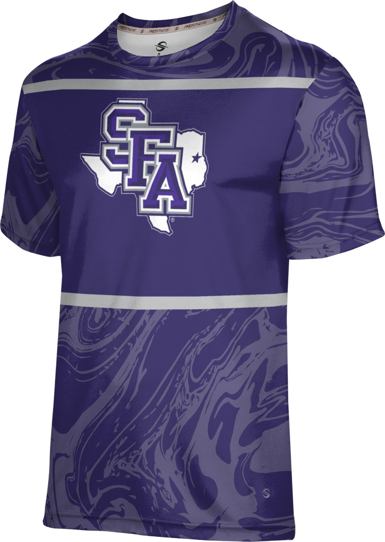 Austin State University Boys Fullzip Hoodie Heather ProSphere Stephen F