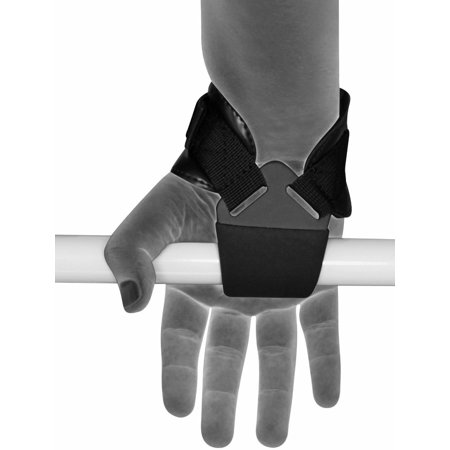 LIVEDITOR Auth Gewichtheben Griff Training Gym Strap Handschuhe Handgelenkschutz Bar D - image 3 de 7