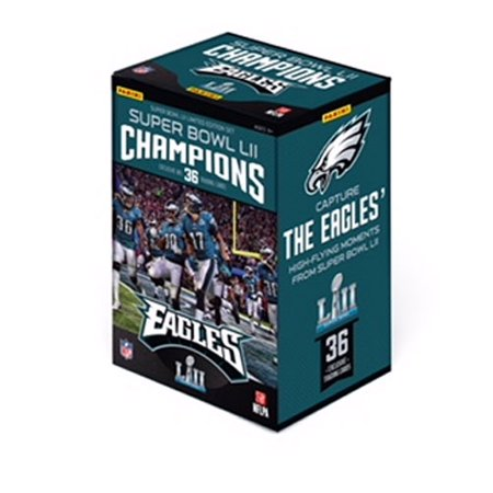 957e5cc8e7c78 2018 Panini America Philadelphia Eagles Super Bowl Champions Box Set  (FB17A) - 1 pack of 36 cards - Walmart.com