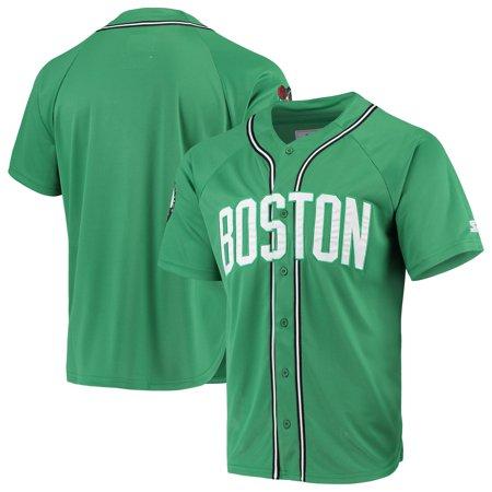 Starter Authentic Green Jersey (Boston Celtics Starter Legacy Baseball Jersey - Kelly Green)