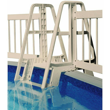 Vinyl Works Pool Ladder Step To Fence Connector Kit In